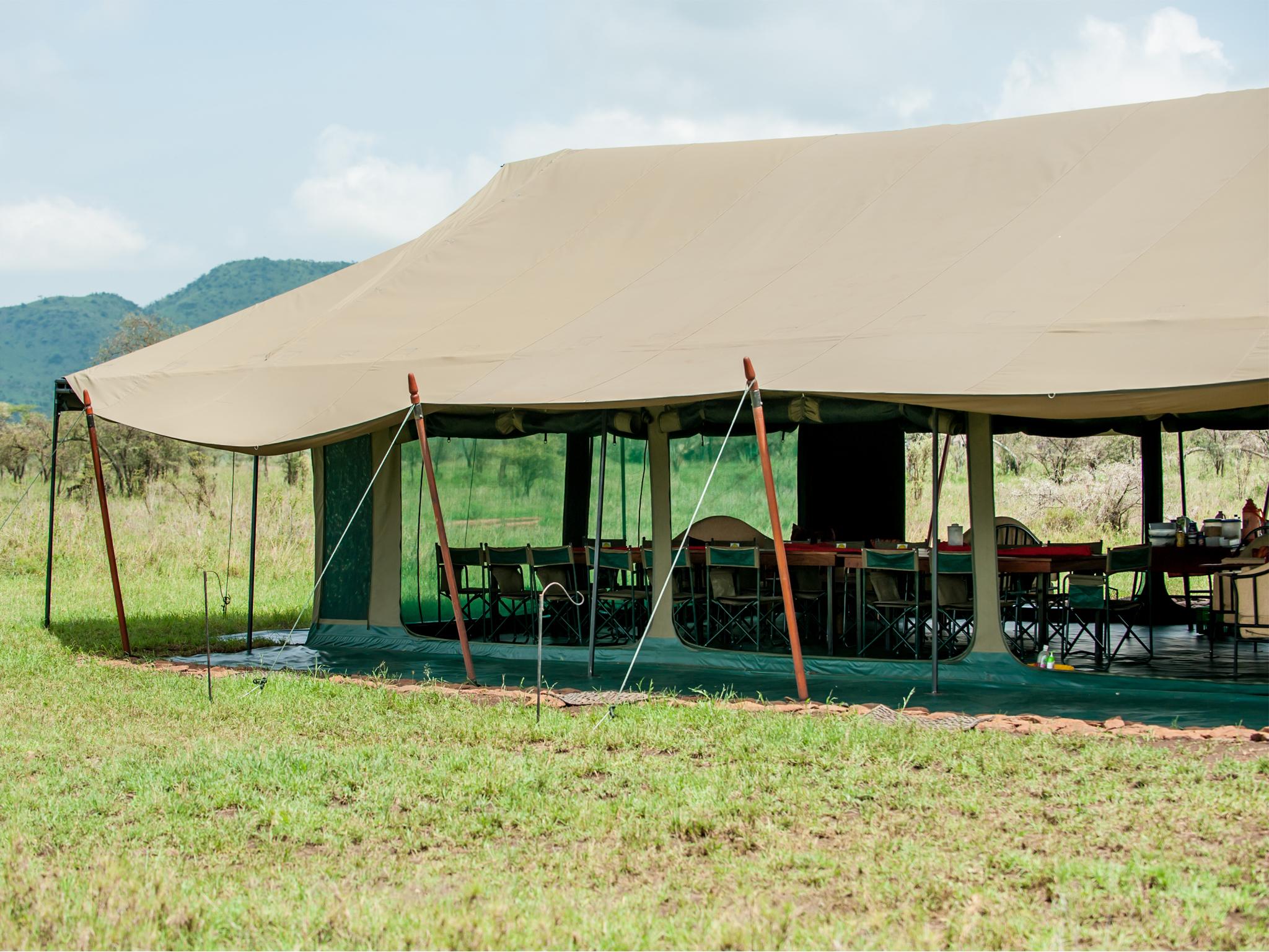 3 & Mess Tents | Kananga Special Tented Camp